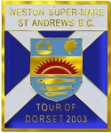 Weston Super-Mare Tour badge